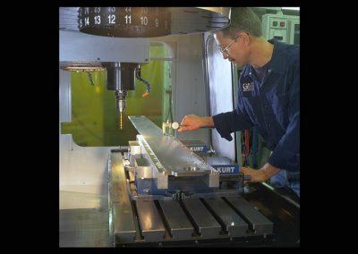 CNC Haas Machine, Long SST Steel Bar Stock