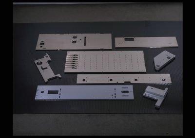 CNC Machining, Large Alum Plates, Electroless Nickel