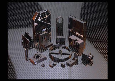 CNC Milling, Alum 6061, Black Anodize, Hardcoat
