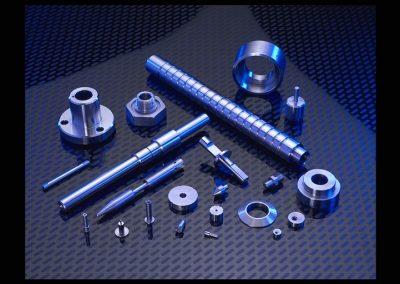 CNC Turning, Alum 6061, SST, CRS